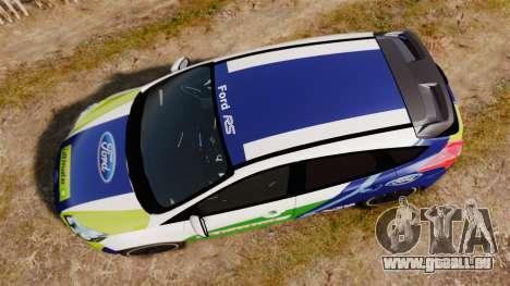 Ford Focus ST Rally für GTA 4 rechte Ansicht