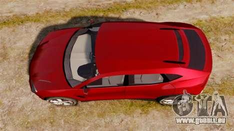 Lamborghini Urus LP840 2015 für GTA 4 rechte Ansicht