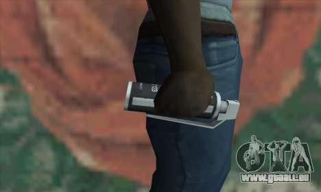 Gas grenade pour GTA San Andreas troisième écran