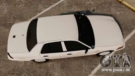 Ford Crown Victoria Traffic Enforcement [ELS] pour GTA 4 est un droit