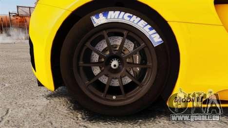 McLaren MP4-12C GT3 (Updated) pour GTA 4 Vue arrière