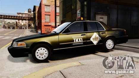 Ford Crown Victoria Cab für GTA 4 linke Ansicht