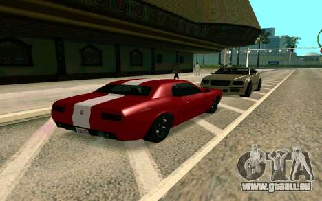GTA V Gauntlet für GTA San Andreas zurück linke Ansicht