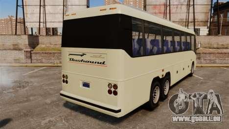 GTA V Dashhound für GTA 4 hinten links Ansicht