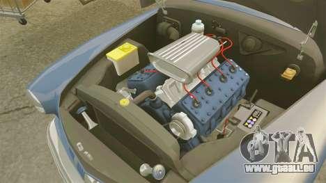 Mercury Lead Sled Custom 1949 pour GTA 4 est une vue de l'intérieur
