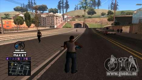 C-HUD Maket für GTA San Andreas