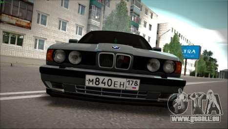 BMW 525i für GTA San Andreas linke Ansicht
