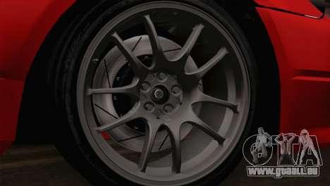 Nissan Silvia S14.5 pour GTA San Andreas sur la vue arrière gauche
