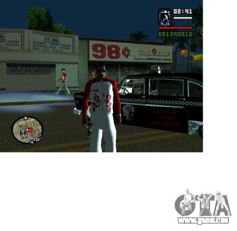 Forme olympique Russie pour GTA San Andreas