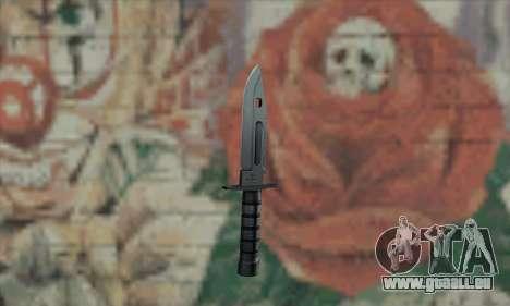 M9 Knife für GTA San Andreas