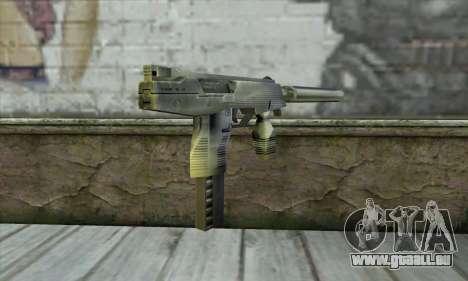 SMG из Counter Strike pour GTA San Andreas deuxième écran