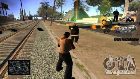 C-HUD Russian Mafia by Luigie pour GTA San Andreas troisième écran