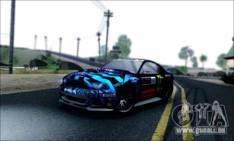 Ford Mustang GT 2013 v2 pour GTA San Andreas vue de côté
