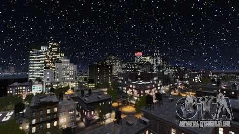Météo Paris pour GTA 4 secondes d'écran