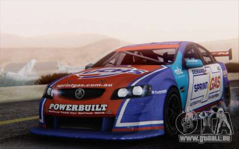 Holden Commodore für GTA San Andreas Unteransicht