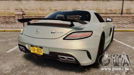 Mercedes-Benz SLS 2014 AMG Black Series pour GTA 4 Vue arrière de la gauche