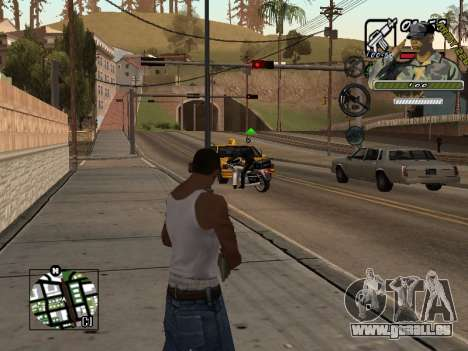 C-Hud Army by Enrique Rueda für GTA San Andreas zweiten Screenshot