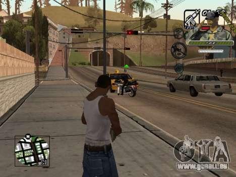 C-Hud Army by Enrique Rueda pour GTA San Andreas deuxième écran