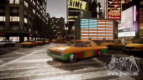 Chevrolet Impala für GTA 4 hinten links Ansicht