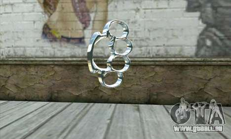 Brass knuckles für GTA San Andreas zweiten Screenshot