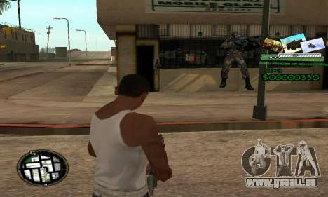C-HUD Army Troops pour GTA San Andreas