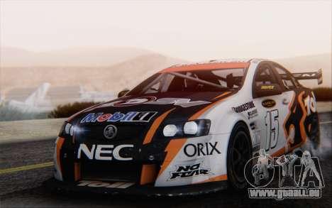 Holden Commodore für GTA San Andreas Seitenansicht