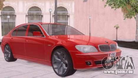 BMW 750Li E66 für GTA San Andreas