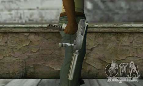 SMG из Counter Strike pour GTA San Andreas troisième écran