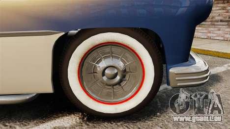 Mercury Lead Sled Custom 1949 pour GTA 4 Vue arrière