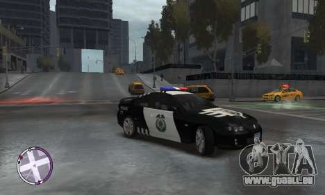 Holden Monaro CV8-R Police pour GTA 4 est un droit