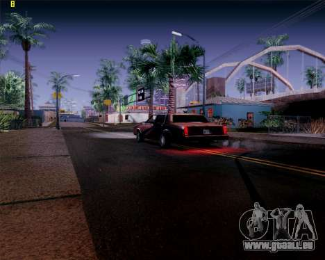 ENB HD CUDA 2014 v.3.5 Final für GTA San Andreas fünften Screenshot