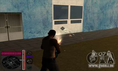 C-HUD by Andy Cardozo für GTA San Andreas dritten Screenshot