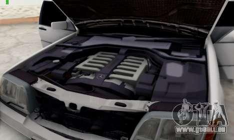 Mercedes-Benz 600SEL für GTA San Andreas Rückansicht