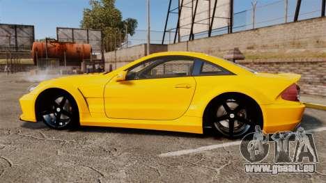 Mercedes-Benz SL65 AMG für GTA 4 linke Ansicht