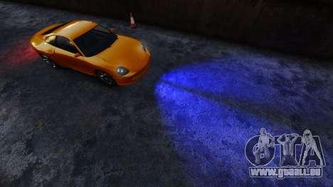 Blau-Scheinwerfer für GTA 4