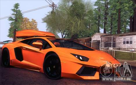 Lamborghini Aventador LP 700-4 für GTA San Andreas