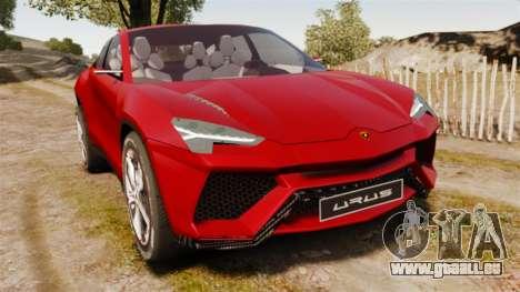 Lamborghini Urus LP840 2015 pour GTA 4