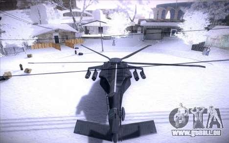 MH-X Silenthawk pour GTA San Andreas vue de droite