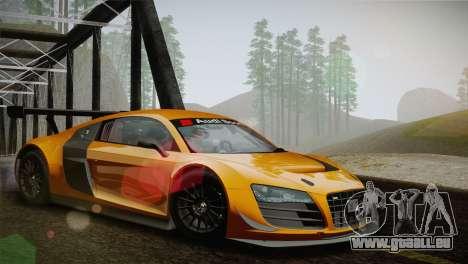 Audi R8 LMS Ultra Old Vinyls für GTA San Andreas