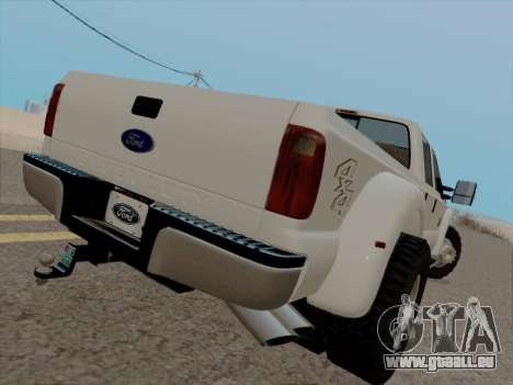 Ford F450 Super Duty 2013 pour GTA San Andreas vue de droite