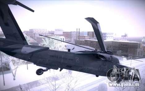 MH-X Silenthawk pour GTA San Andreas vue intérieure
