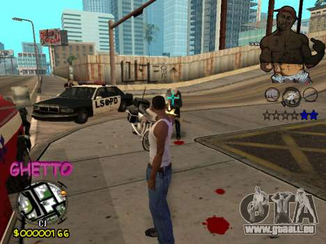 C-HUD 2pac für GTA San Andreas her Screenshot