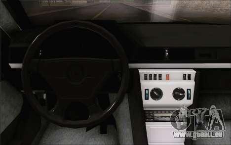 Mercedes-Benz W124 für GTA San Andreas rechten Ansicht