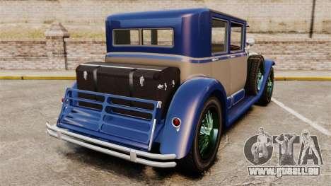 GTA V Albany Roosevelt für GTA 4 hinten links Ansicht