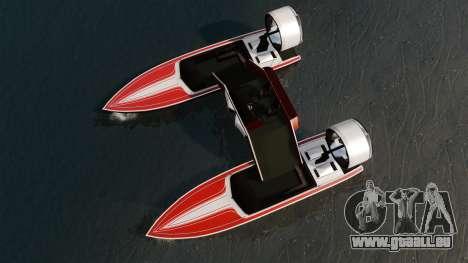 Katamaran-Jetmax Aero- für GTA 4 rechte Ansicht