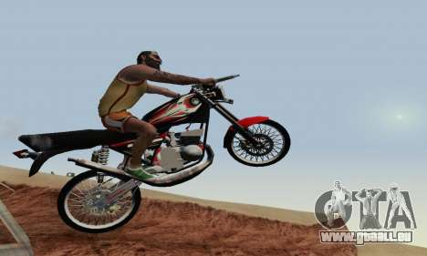 Yamaha Rx-King 135 2008 pour GTA San Andreas salon