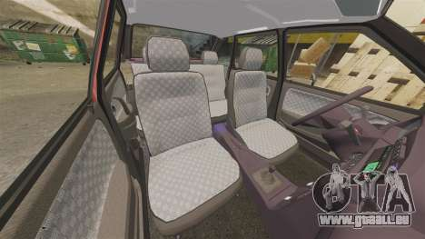 VAZ-2114 Samara-2 pour GTA 4 est une vue de dessous