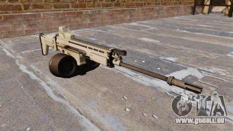 Selbstladegewehr FN SCAR-H LMG für GTA 4