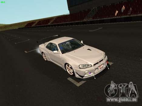Nissan Skyline BNR34 pour GTA San Andreas