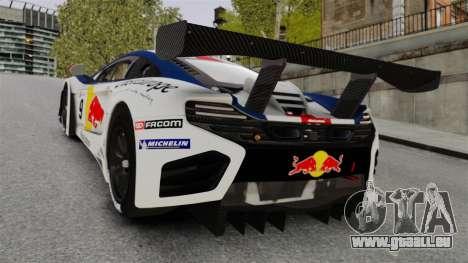 McLaren MP4-12C GT3 für GTA 4 hinten links Ansicht